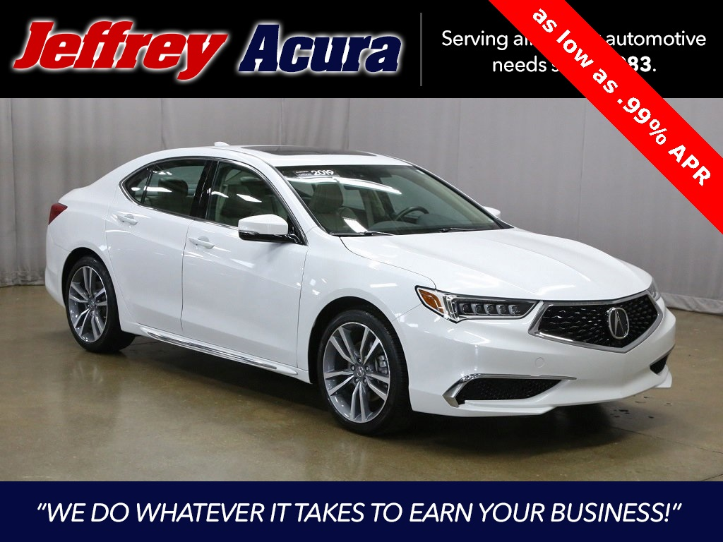 Certified Pre-Owned 2019 Acura TLX 3.5L Technology Pkg